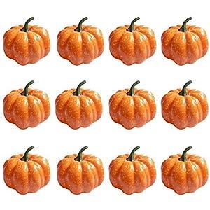 """StillCool Mini Artificial Pumpkins 3"""" (80mm) 6"""