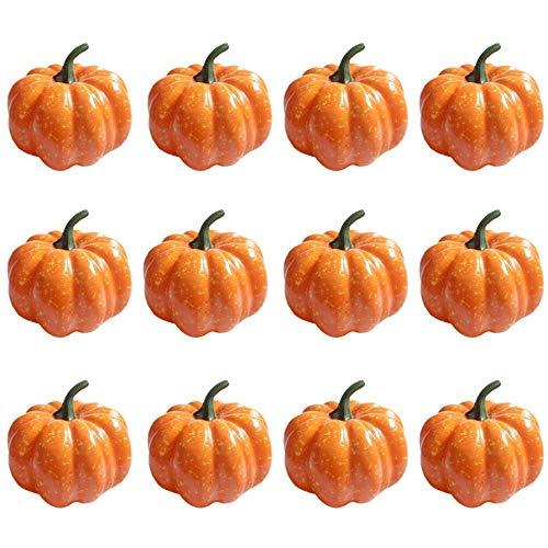 """StillCool Mini Artificial Pumpkins 3"""" (80mm) (12)"""