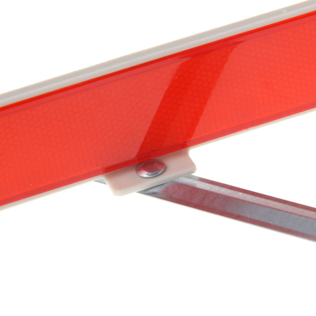colore: rosso per auto e camion Jiamins emergenze e pericoli per segnalare guasti triangolo di segnalazione catarifrangente