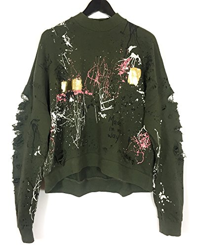 Zara Women Graffiti sweatshirt 6085/041 (Small)