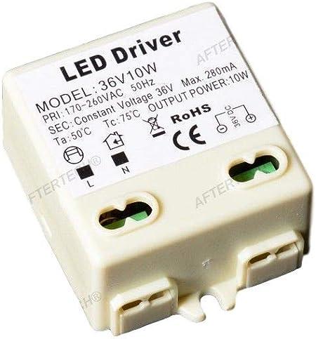 aftertech/® Micro Bloc dalimentation transformateur lED 36/V 10/W 36/V Tension Constante 220/V b4/C7