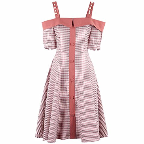 Versión Style Gentle DRESS Nuevo Off Falda Girl Popular Retro Summer Vestido coreana Shoulder Ultra 0AxxqYtw