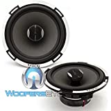 Focal PC165 X2 2 Ohm 6.5 80 Watts RMS 2-Way Coaxial Speakers