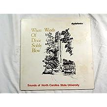 Where winds Dixie softly blow, Sounds North Carolina State University LP