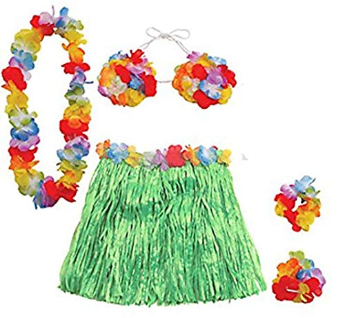 Luau Hula Kit (Set of 5 Pieces)