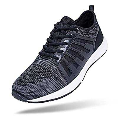 FEIKENIU Men's Running Shoes Breathable Mens Sneaker Walking Shoes Athletic