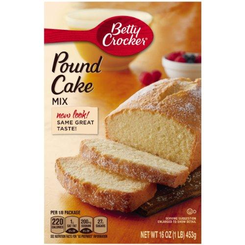Betty Crocker Cake Mix Pound Cake 16 0 Oz Box  Pack Of 12