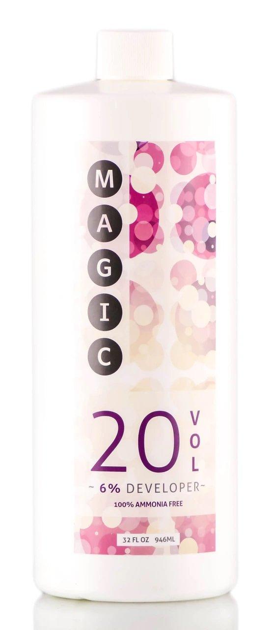 MAGIC Lightener Developer, 100% Ammonia-Free (6% 20 Volume, 32 oz)