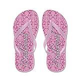 CafePress Wedding Bride Bridesmaid - Flip Flops, Funny Thong Sandals, Beach Sandals
