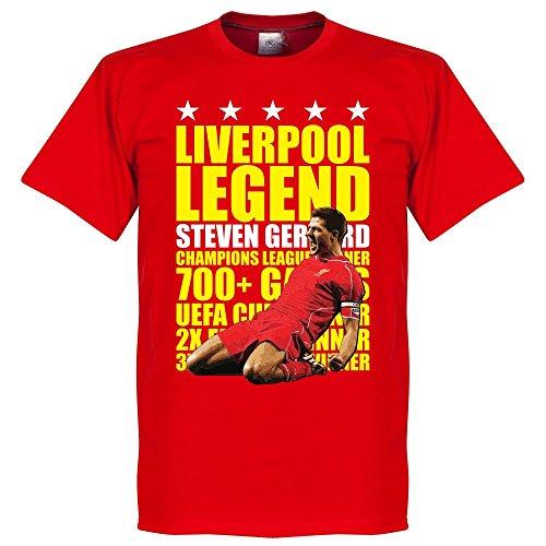 Steven Gerrard Legend T-Shirt - rot/gelb