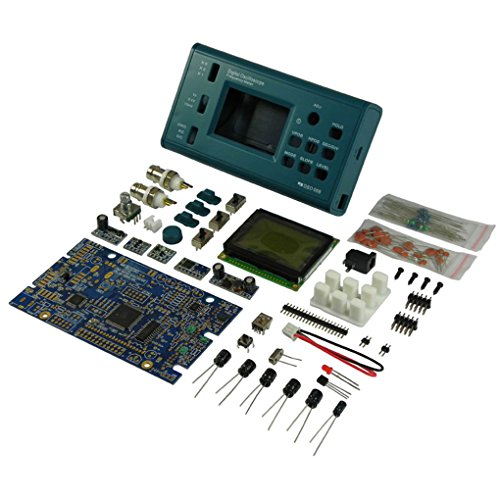 Onepeak DSO068 Oscilloscope Digital Storage Oscilloscope DIY Kit Disassembled Parts with LCD 20MHz Probe Teaching Set