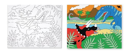 Melissa & Doug Canvas Creations - Dinosaur