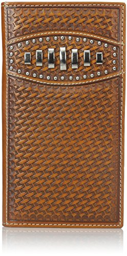Ariat Men's Scalop Bars Rodeo, Tan, One Size