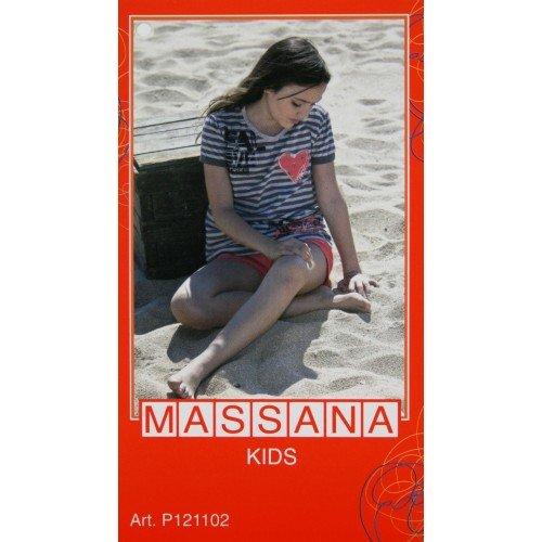 CAL FUSTER - Pijama Massana de Verano Niña Talla 18: Amazon.es: Ropa y accesorios