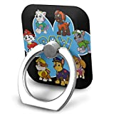 EdithL Paw Patrol Cellstand Finger Ring Stand Holder - Car Mount 360 Degree Rotation Universal Phone Ring Holder Kickstand for iPhone iPad Samsung