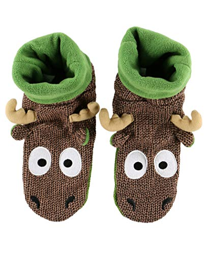 Woodland and Character Moose Slippers Slipper Adults for Woodland LazyOne by Slipper Slippers Kids Woodland Animal Slippers qCxFPw4Sx