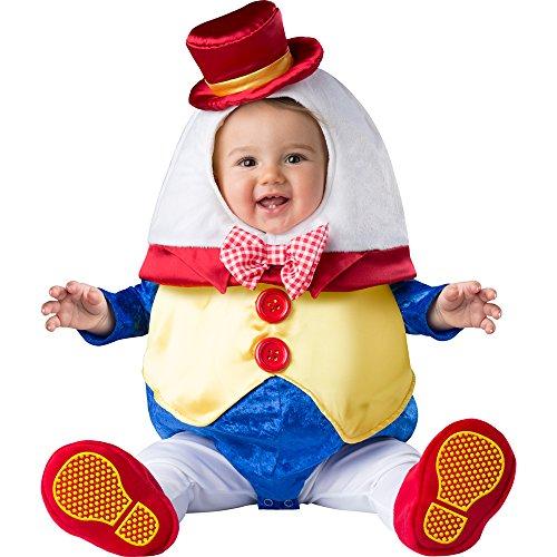 Fun World Kids' Toddler Humpty Dumpty Large, Multi, L]()