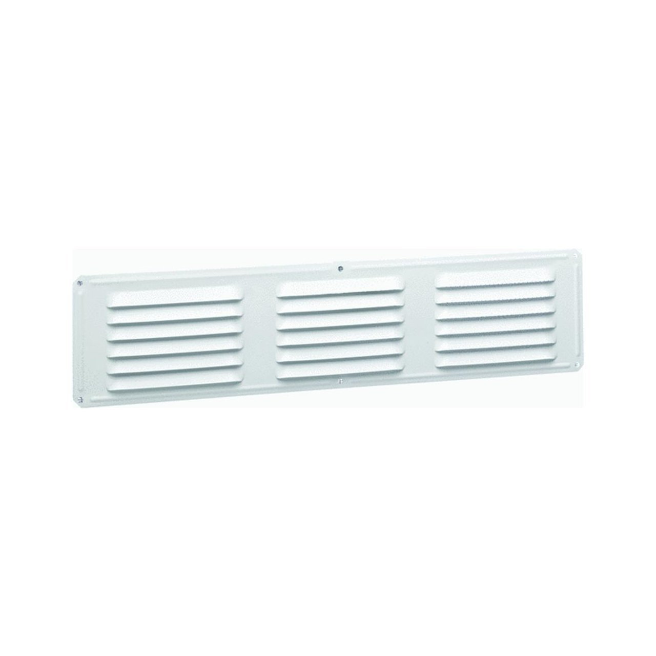"Air Vent Undereave Vent 16"" X 4"" 28 Sq. In. Net Free Area 15"" X 3"" Opening Aluminum White"
