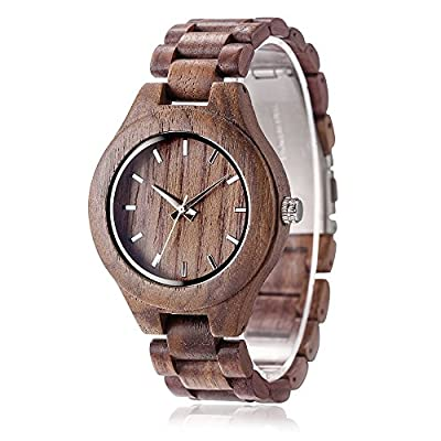 Nature Wooden Unisex Watch With Japan Quartz Movement by Omelong Watch
