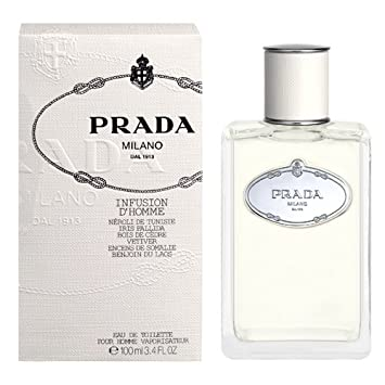 Amazon.com   Prada Infusion D homme by Prada for Men Eau De Toilette ... 5c98e1edbab