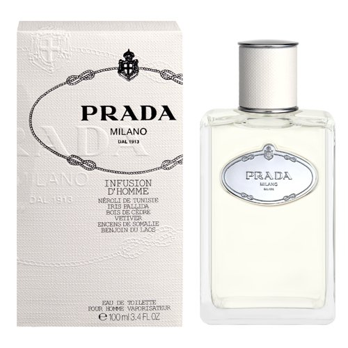 Prada Infusion D'homme by Prada for Men Eau De Toilette Spray - Prada Milano