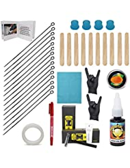 Hand Poke and Stick Tattoo Kit - Clean & Safe Stick & Poke Tattoos - DIY Tattoo Kit (Hand Poke Tattoo Kit)