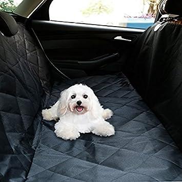 OUTAD Protector Impermeable de Asientos de Coche para Perros Mascotas