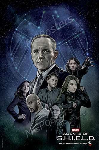 MCPosters Marvel Agents of Shield TV Show Series Poster GLOSSY FINISH - TVS504 (24