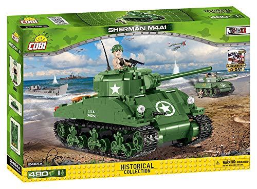 (COBI Small Army WW-Sherman M4A1 Tank Building Kit)