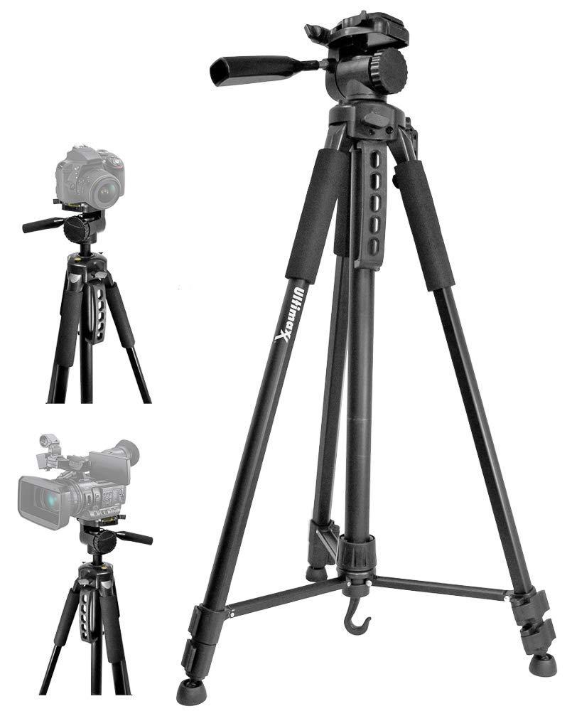【公式】 Ultimaxx Ultimaxx B07PPBGLNY 75インチ軽量ポータブルカメラ三脚スタンド キャリーバッグ付き すべてのデジタル一眼レフカメラとビデオカメラ用 B07PPBGLNY, 御祝ギフトランド:4ed2d44d --- martinemoeykens.com