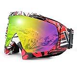 JamieWIN Skiing Goggles Motorcycle...