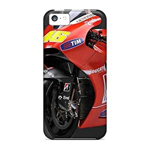 TYH - Top Quality Case Cover For ipod Touch4 Case With Nice Rossi 46 Ducati Appearance ending phone case