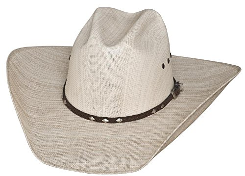 Justin Moore By Montecarlo Bullhide Hats OUTLAWS LIKE ME Straw Western Cowboy Hat (7 1/4) - The Western Outlaw Hat