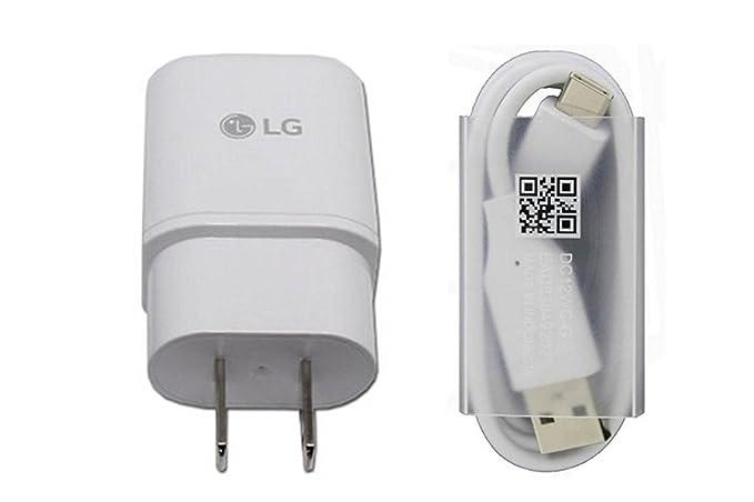 Original LG Cargador rápido mcs-h05wd con tipo C Cable dc12wb-c ...