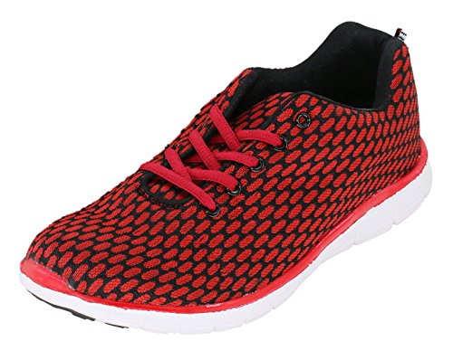 Men's Trainers Trainers Men's Red Black brandsseller Black Men's brandsseller Trainers Red brandsseller Red zqxdOqg6