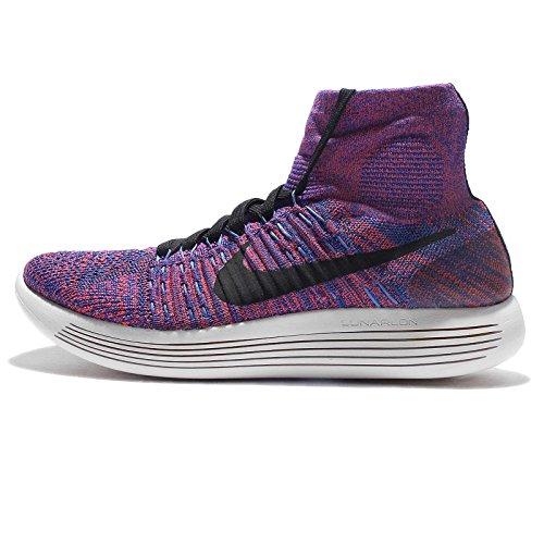 Zapatillas De Running Nike Lunarepic Flyknit Para Hombre Paramount Blue Black 402