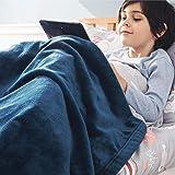 Bedsure Fleece Baby Blankets Unisex for