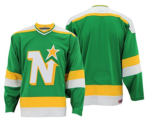 Jersey Authentic (Minnesota North Stars CCM Adidas NHL Men's