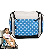 Portable Multifunctional Baby Infant Travel Booster Seat & Diaper Bag