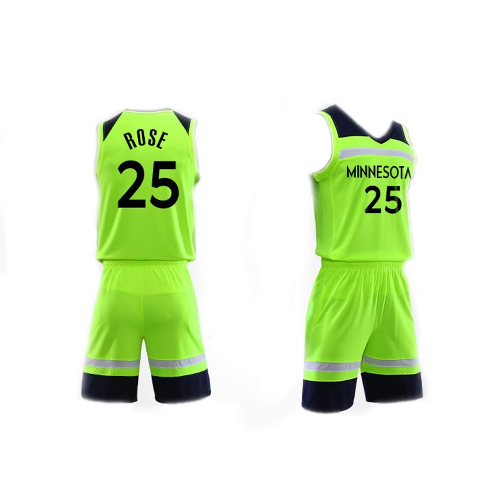 STAD Camiseta De Baloncesto para Hombre Set Top+Shorts, Derrick ...