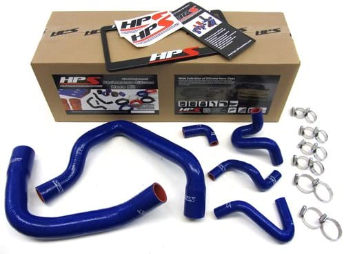 Black Radiator Silicone Hose Kit For Ford Mustang 86-93 GT LX Cobra 5.0 NEW
