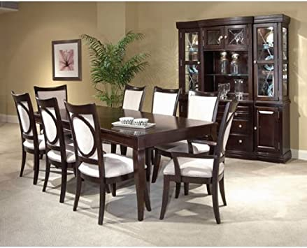 Amazon Com Affinity Leg Table Dining Room Set By Broyhill Furniture Table Chair Sets