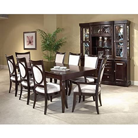 Awe Inspiring Amazon Com Affinity Leg Table Dining Room Set By Broyhill Onthecornerstone Fun Painted Chair Ideas Images Onthecornerstoneorg