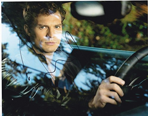 JAMIE DORNAN SIGNED 8X10 PHOTO FIFTY SHADES OF GREY AUTOGRAPH CHRISTIAN GREY C