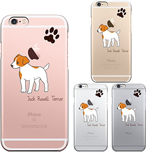 Iphone6 Iphone6S 4.7 inch Case Transparent Shell Dog Cute Pet Jack Russell Terrier 1 (Jack Russell Dachshund)