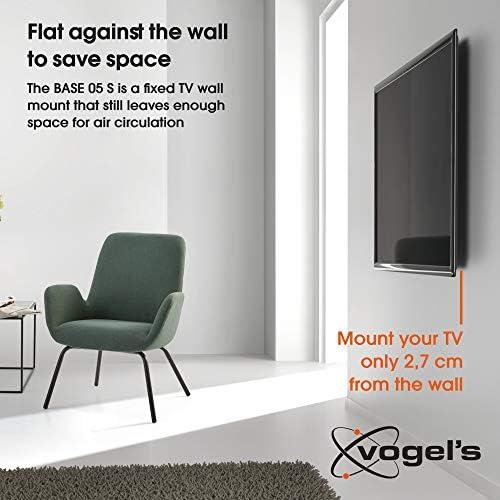 Vogels Base 05 S - Soporte de Pared Fijo para TV 19: Amazon.es ...