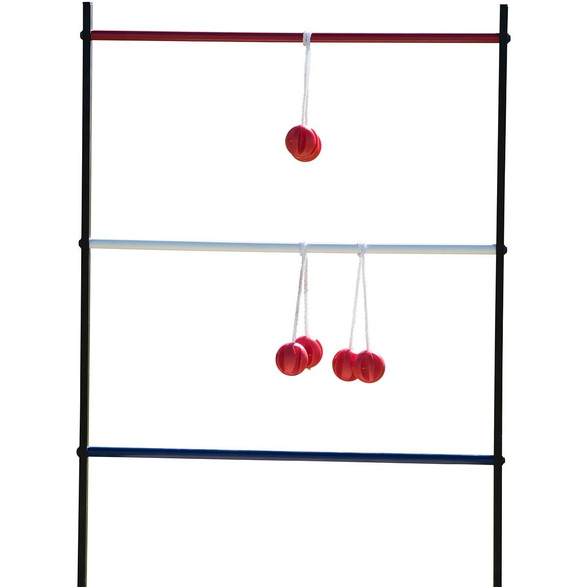 Sport Squad 2-in-1 Bean Bag/Cornhole and Ladder Toss Game Set for Indoor or Outdoor Use