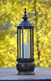 H Potter Hurricane Large Candle Holder Decorative Candle Lantern (LARGE)