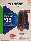 TracFone Z233 Flip Prepaid Carrier Locked - 2.8inch Screen - 512GB - Black (U.S. Warranty)
