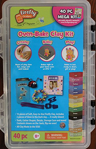 Firefly by Sculpey - 40 Pc Mega Oven-Bake